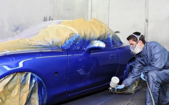покраска кузова автомобиля таблица